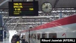 Белгија - железничка станица во Брисел