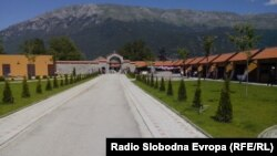 Macedonia - The tourist complex Sveti Naum in Ohrid - Jun2014
