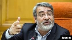 Iranian interior minister, Abdolreza Rahmani Fazli, undated
