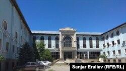 Талкаланган университеттин азыркы көрүнүшү. 27-май, 2019-жыл.