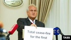 Спецпредставитель ОБСЕ в трехсторонней контактной группе Мартин Сайдик.