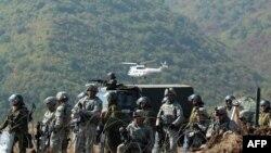 Forcat e KFOR-it në veri të Kosovës.