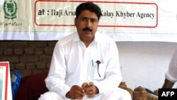 Dr. Shakeel Afridi attends a malaria control campaign in Khyber tribal district in July 2010.