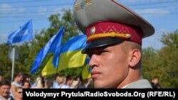 Кримське керівництво вшанувало прапор України і Тараса Шевченка