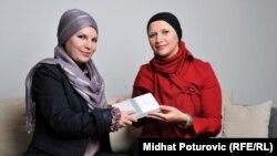 Tatjana (lijevo) i Fatima (desno), novembar 2011.