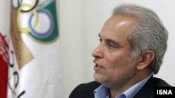 نصرالله سجادی، گزینه پیشنهادی وزارت ورزش که روز یکشنبه رای اعتماد نگرفت.