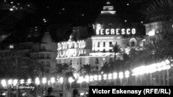 Promenade des Anglais la Nisa și Hotelul Negresco