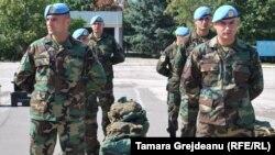 Militarii moldoveni pregătiţi pentru misiunea de pacificare din Kosovo