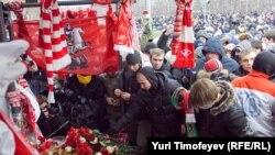 Одна из акций памяти о Егоре Свиридове