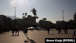 Pamje në Shkup