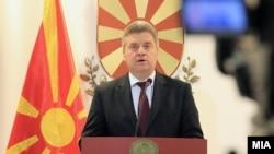 Macedonian leader Gjorge Ivanov