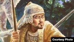 Фрагмент картины художника из Петропавловска Валерия Крестникова «Юность Аблая». Февраль 2011 года.