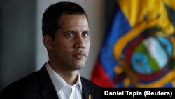 Лідэр апазыцыі Вэнэсуэлы Хуан Гуайдо