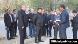Қашқадарё вилоят ҳокимлиги расмий веб сайтидан олинган сурат, 29 октябрь, 2019 йил