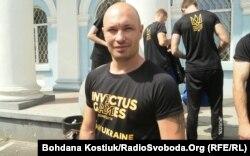 Олександр Чалапчій, учасник національної збірної на Invictus games