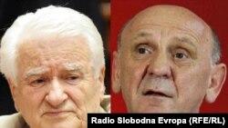 Dragoljub Mićunović i Sulejman Tihić (kombinovana fotografija: Vesna Anđić i Saša Čolić)