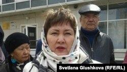 «Тұлпар-8» ТҚК үлескері Зейнет Қабылдақызы. Астана, 22 сәуір 2014 жыл.