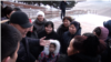 Kazakhstan - Taraz - mothers protest