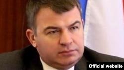Ресейдің қорғаныс министрі Анатолий Сердюков.