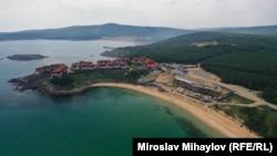 Шофьорският плаж на юг от Созопол беше една от последните дълги пясъчни ивици, останали незастроени по българското Черноморие