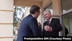 Aleksandar Vučić i Dragan Čović, arhiva