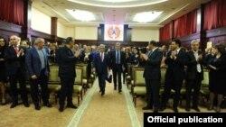 Заседание Совета РПА в Цахкадзоре, 14 апреля 2018 г.
