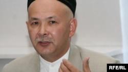 Председатель Союза мусульман Казахстана Мурат Телибеков. Алматы, 25 мая 2010 года.