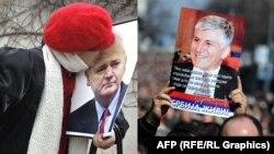 Kombo - pristalice Slobodana Miloševića i Zorana Đinđića