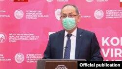 Санитария-эпидемиологик назорати давлат инспекцияси бошлиғи Нурмат Отабеков.