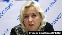 Адвокат Елизавета Ахметова.