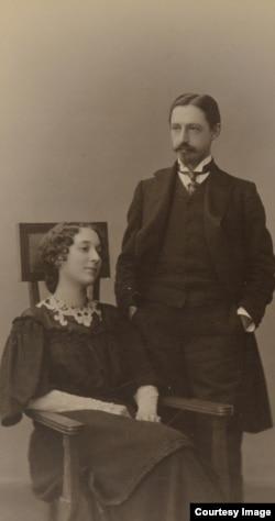 Иван и Вера Бунины, 1907 год