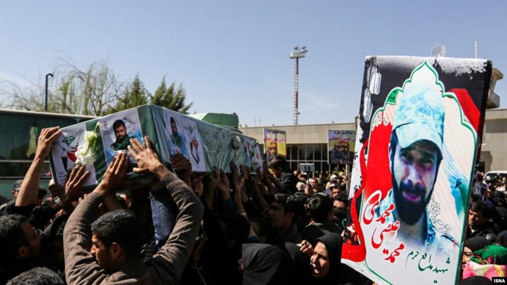 کشته شدن پنج نیروی اعزامی ایران در درگیریهای سوریه