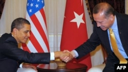 Takimi Obama-Erdogan. Ankara, 2009.