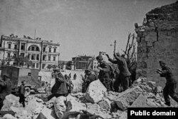 Пленные немцы, май 1944