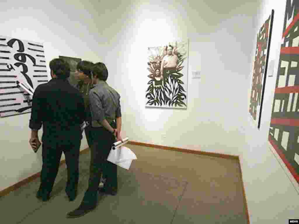 دهمین دوسالانه جهانی پوستر تهران در موزه هنرهای معاصر تهران