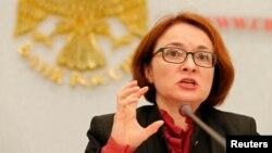 Эльвира Набиуллина, Ресей орталық банкінің басшысы.