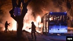 Ankarada terror - 17 fevral 2016