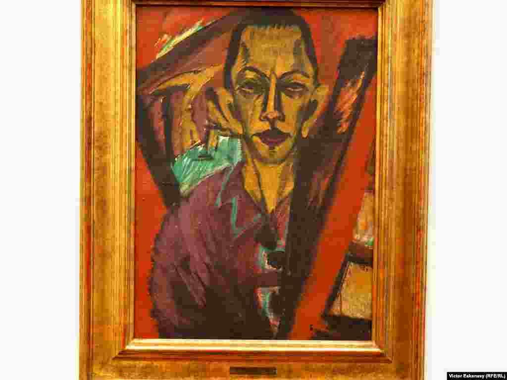 Ernst Ludwig Kirchner, Autoportret