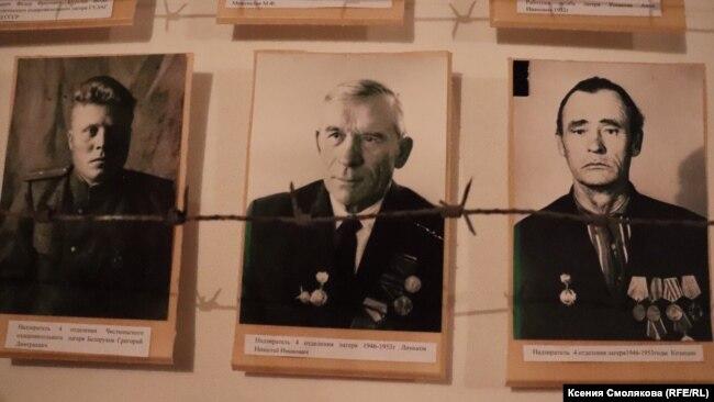 Музей в Топчихе. Фото надзирателей
