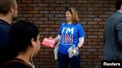 Protivnici Brexita tokom kampanje u Londonu