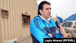 ثامر مصطفى مدير مدرسة السلة