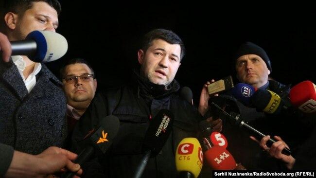 Poroşenkonun yaxın adamı sayılan Nasirov ötən martda zaminə buraxılıb