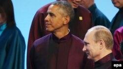 Obama i Putin u Pekingu