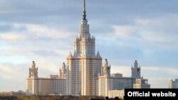 Главный корпус Московского государственного университета в Москве