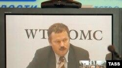 Глава российской делегации на переговорах по ВТО Максим Медведков заявлял, что вопрос вступления России решает добрая воля США