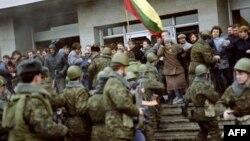 Противостояние граждан Литвы и воинских подразделений в Вильнюсе 1991-го года