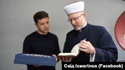 Volodımır Zelenskıy ve Said İsmagilov, 2019 senesi mayısnıñ 2-si
