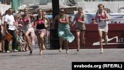 Бег на абцасах па славянскім базары