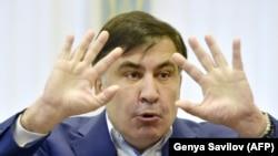 Міхеїл Саакашвілі в апеляційному суді Києва
