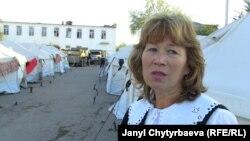 Шарктагы лагерде жашаган орус офицери Зулфира Темирболотова, 24-октябрь, 2010-ж.